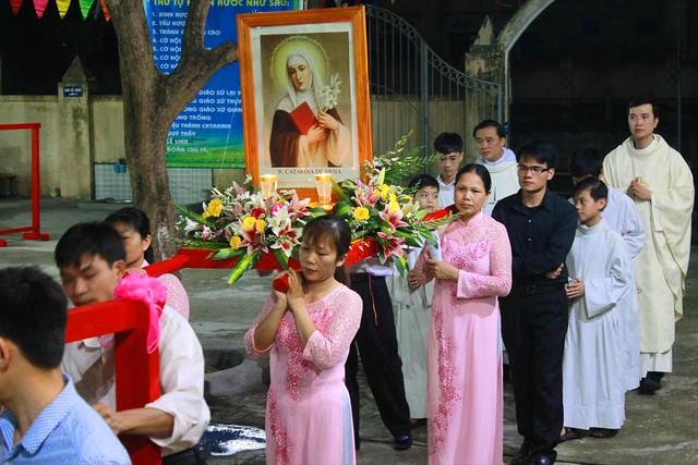 Gx. Lại Yên lễ thánh Catarina 7