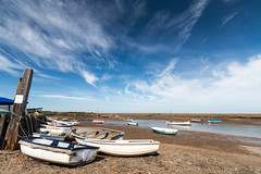 Burnham overy staith view of marshes