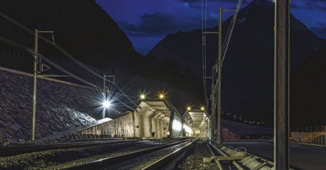 Gotthard Base Tunnel na Radiožurnálu