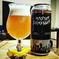 Thanks to my homie @chato25 for this @theveilbrewing #MasterShredder #CraftBeer. Good stuff for sure!