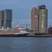 ms Koningsdam - Cruise terminal - Port of Rotterdam by Frans Berkelaar