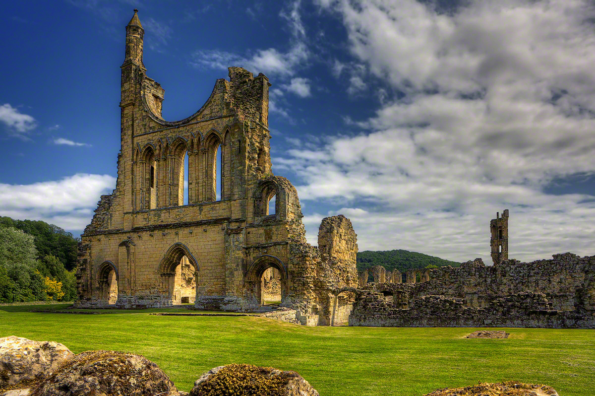 Byland Abbey. Credit Antony McCallum