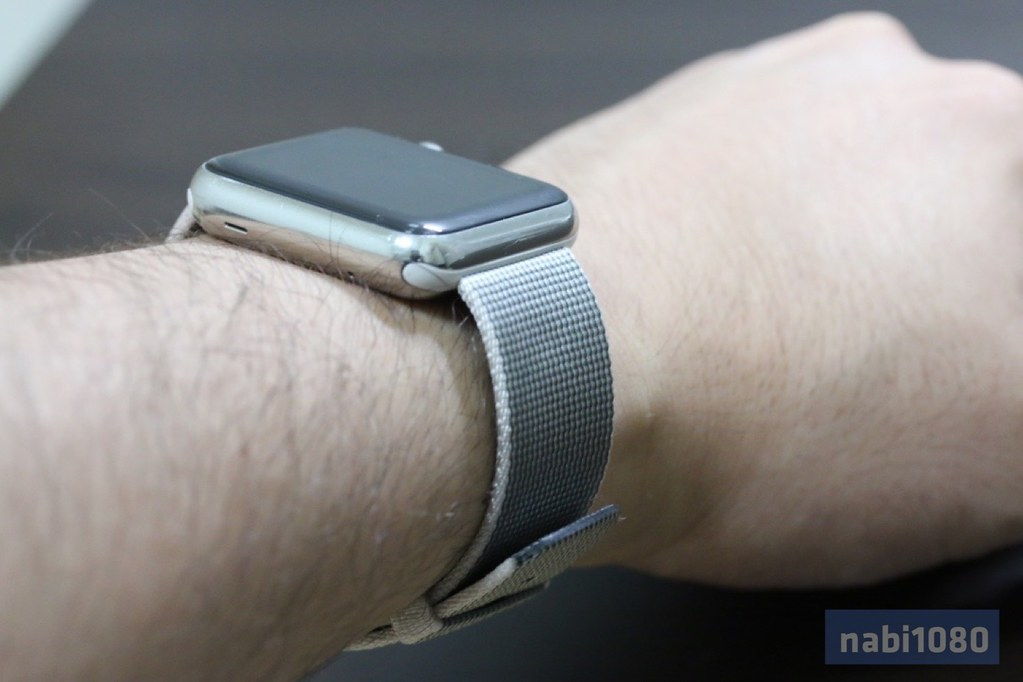 Apple Watch ウーブンナイロンバンド13
