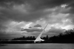 160217 Sundial Bridge in storm-001J