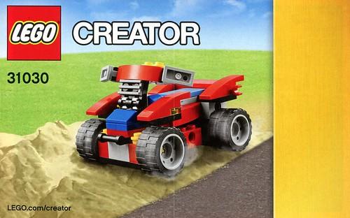 LEGO Creator 31030 Red Go-Kart ins04