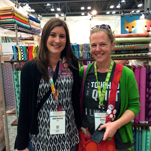 With Jess from Elven Garden Quilts
