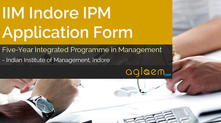 IIM Indore IPM Application Form 2015