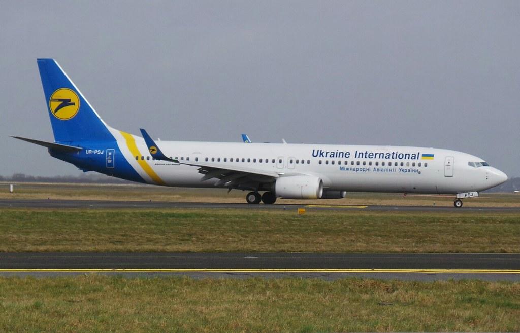UR-PSJ - B739 - Ukraine Int. Airlines