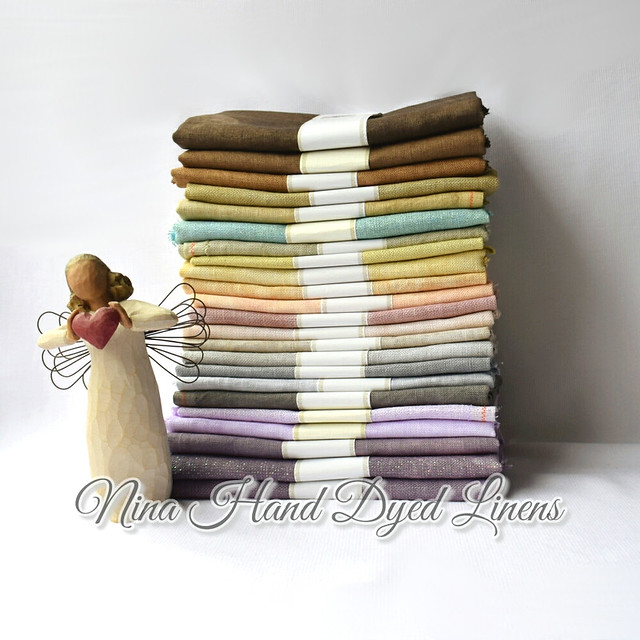 Nina Hand Dyed Linens