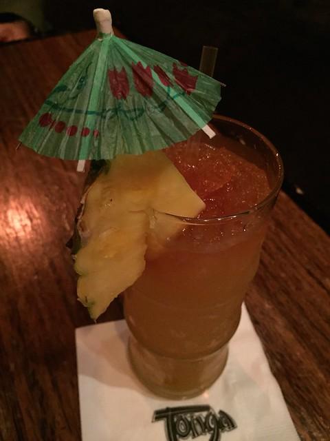 Zombie cocktail - Tonga Room