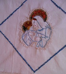 embroidered Virgen 1