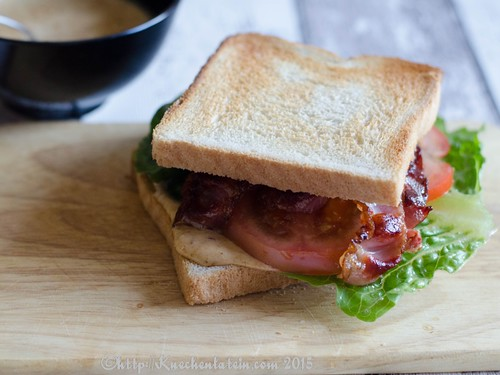 ©Bacon, Lettuce Tomato Sandwich - BLT