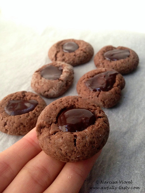 Cookies cu ciocolata si baileys