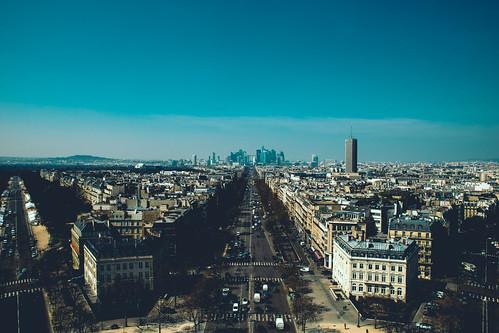 Avenue de la Grande Armée & Palais des congrès de Paris