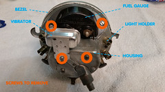 Parts Of The Speedometer