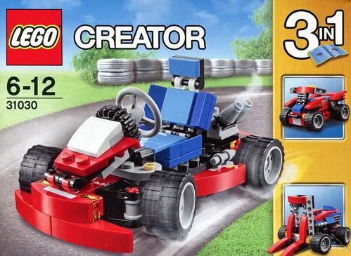 LEGO Creator 31030 Red Go-Kart box02