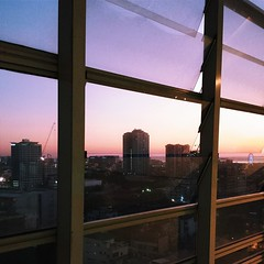 Yesterday's #sunset and the end of another day at #SDA. #benilde #csb #manila #vsco #vscocam