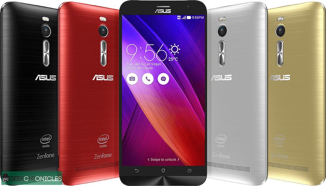 Telefonul cu 4GB de RAM Asus Zenfone 2
