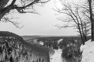 Winter at Letchworth State Park