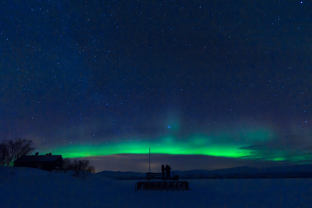 The UFO has landed - Abisko, Swedish Lapland [Explore #2 - thank you all!]