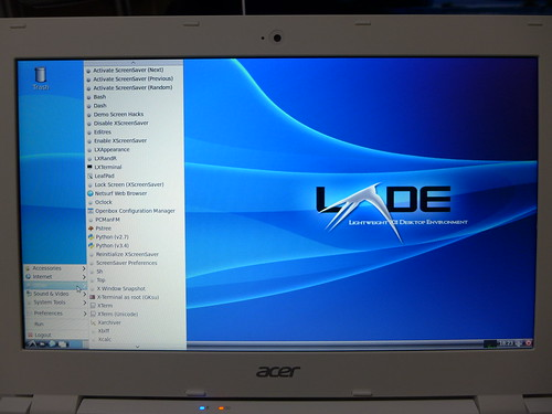 LXDE@Acer Chromebook 11