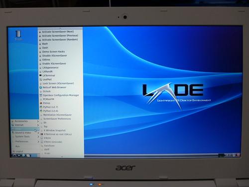 LXDE@Acer Chromebook 11