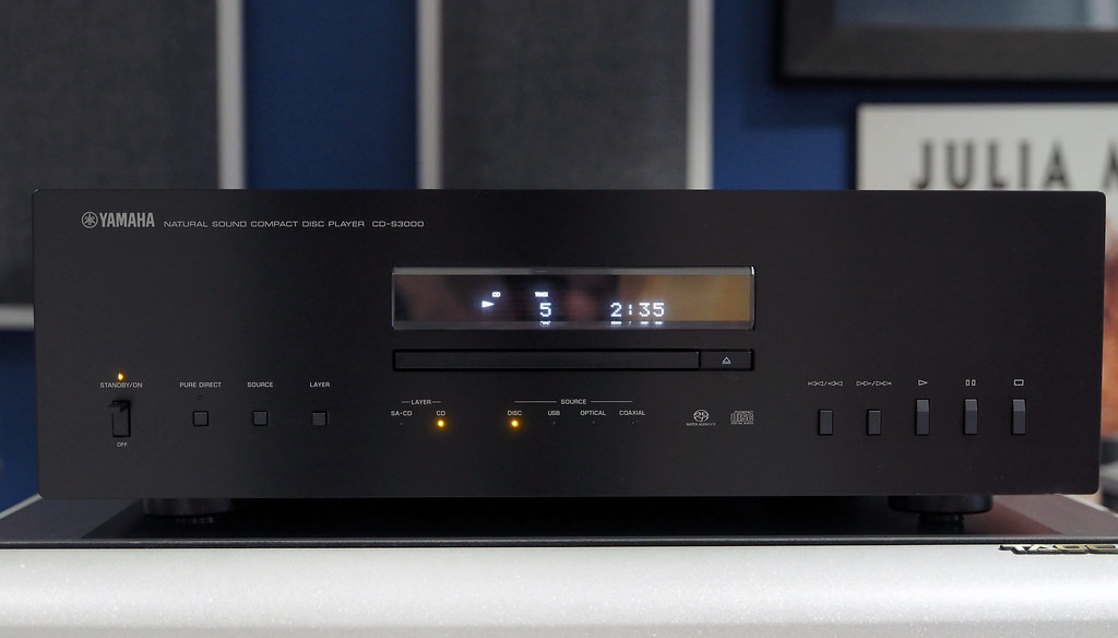 Yamaha CD-S3000 (1) | Here is the newest resident of my Musi… | Flickr