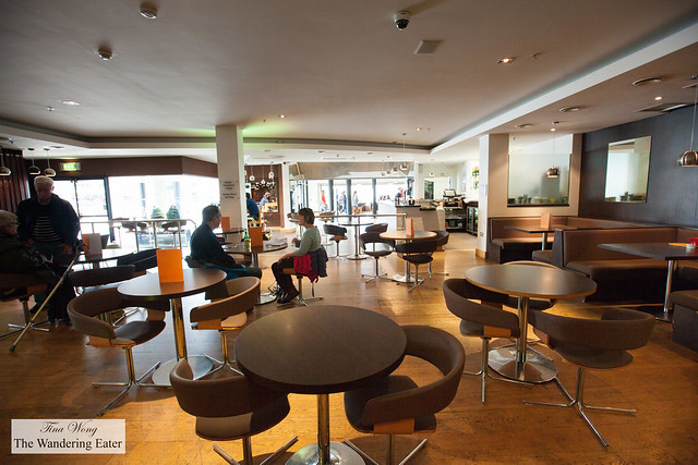 Interior of Ffresh Bar at Millenium Centre