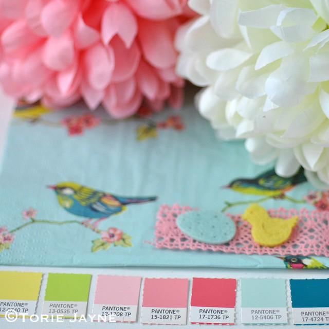 Easter colour palette