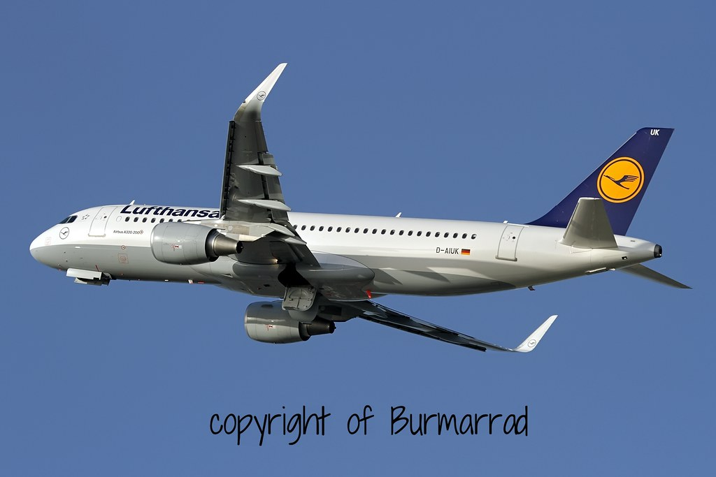 D-AIUK - A320 - Lufthansa