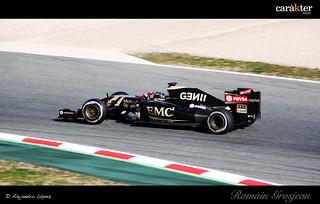Romain Grosjean - Lotus F1 Team - Test pretemporada F1 2015