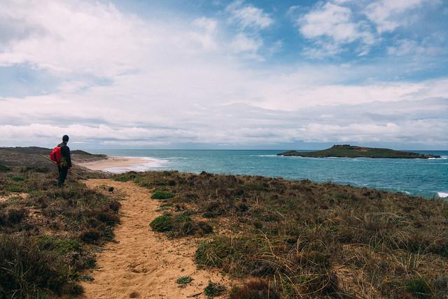ilha do pessegueiro à vista