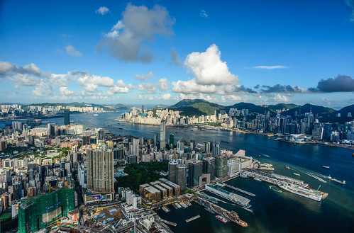 Sky 100 view HK