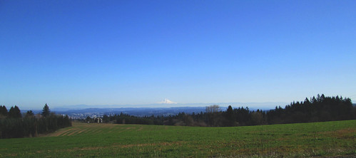 Mt Hood, from The Climb