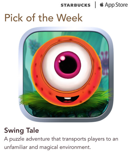 Starbucks iTunes Pick of the Week - Swing Tale