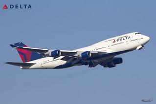 Delta Air Lines / Boeing 747-451 / N673US