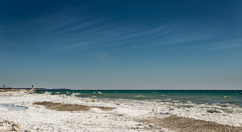 blue winter sky white lake ontario canada colour green ice water canon pod 1740 6d project365 p365 cans2s