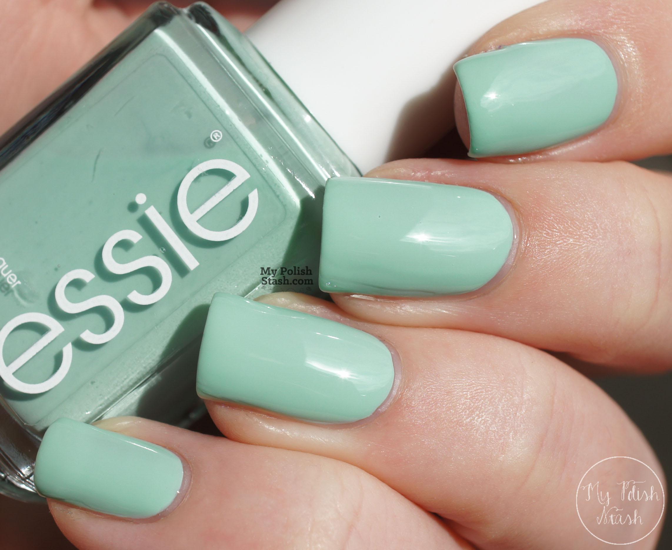 My Polish Stash: [Spring Favorites] Essie - Mint Candy Apple