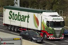 Scania R450 6x2 - PY14 CBO - H8366 - Rebecca Kate - Eddie Stobart - M1 J10 Luton, Bedfordshire - Steven Gray - IMG_0463