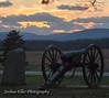 Sunset on Gettysburg by Joshua Eller