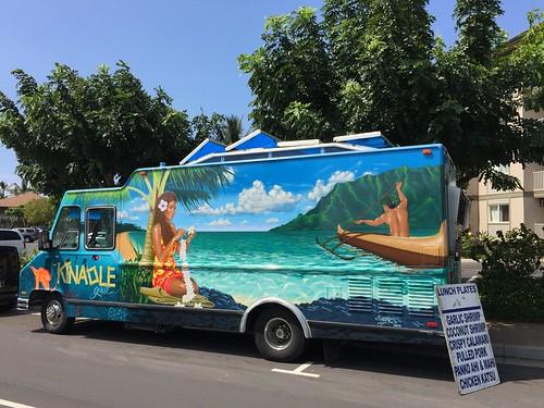 Kinaole Food Truck, Kihei Maui Hawaii