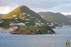Sint Maarten: Fort Amsterdam in the early evening