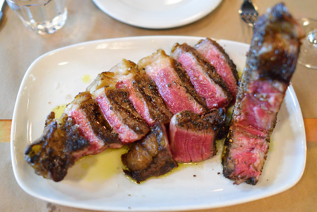 Costata alla Fiorentina 36oz prime dry-aged bone-in new york