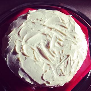 Early birthday cake