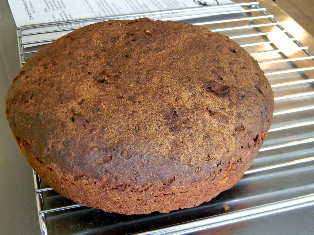 Flax Flake Rye Bread