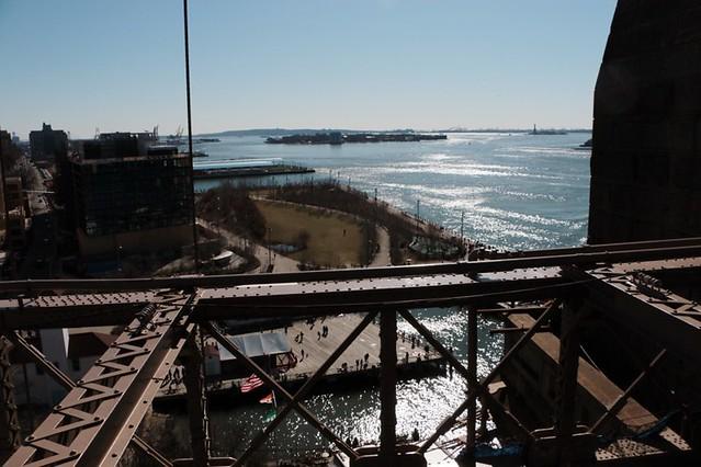 Passeggiata sul Brooklyn Bridge