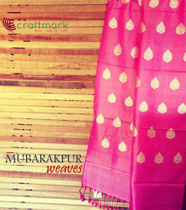 silk weaves from mubarakpur