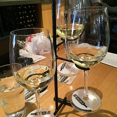 Chard flight @SFUncork'd at SFO. @Stagsleap @Lioco @Rombauer