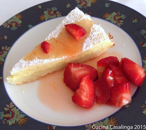 Torta della Nonna Erdbeeren