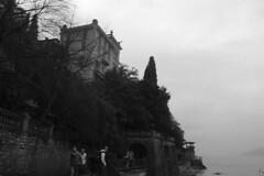 Lake Como - Varenna house cliff
